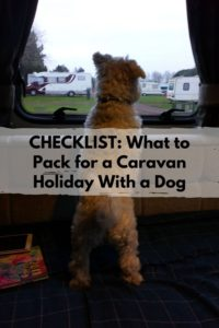 CHECKLIST What to Pack for a Caravan Holiday With a Dog
